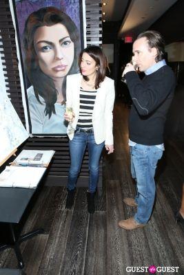 bree michael-warner in Pop-Up Art Event Art Auction Benefiting Mere Mist International