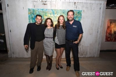 brent roske in Preview Party for Billy Zane's Solo Art Exhibition: