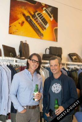 eli kramer in Lisa S. Johnson 108 Rock Star Guitars Artist Reception & Book Signing