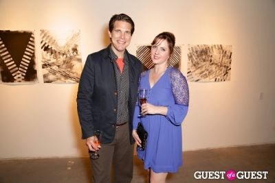 kristina hughes in IvyConnect Art Gallery Reception at Moskowitz Gallery