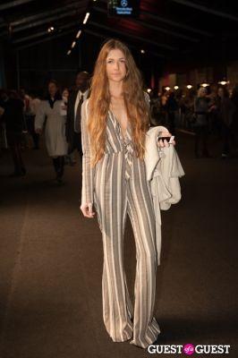 bridget carlsen in NYC Fashion Week FW 14 Street Style Day 3
