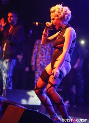 brooke candy in Perez Hilton 35th Birthday Pajama Party