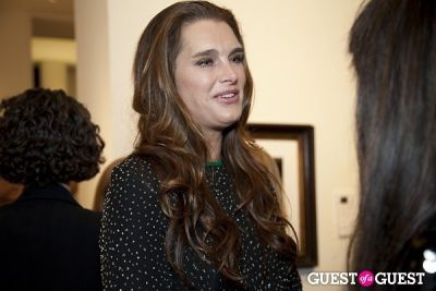 brooke shields in The 21st Annual Take Home a Nude® event