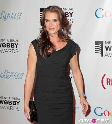 brooke shields in The 15th Annual Webby Awards