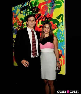 elizabeth hirsch in Young Art Enthusiasts Inaugural Event At Charles Bank Gallery