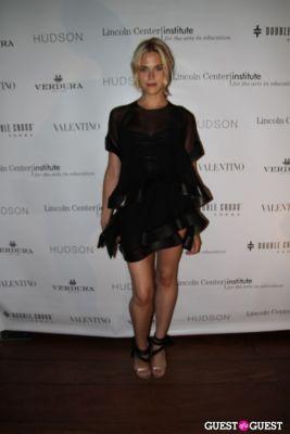 byrdie bell in Valentino sponsors the Inaugural Junior Spring Benefit