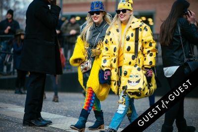 cailli beckerman in London Fashion Week Pt 3