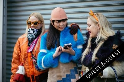 caillianne beckerman in NYFW Street Style Day 6