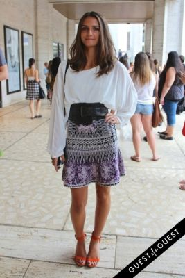 callie gaugler in NYFW Style From the Tents: Street Style Day 4