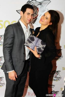 camille zarsky in SocialSharkNYC.com Launch Party