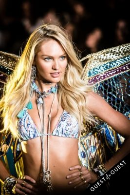 candice swanepoel in Victoria's Secret Fashion Show 2015