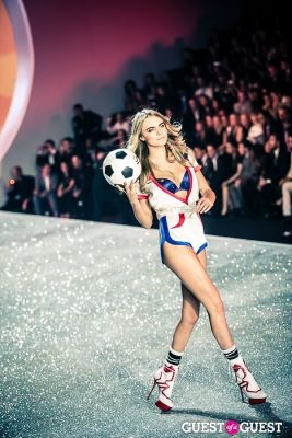 cara delevigne in Victoria's Secret Fashion Show 2013