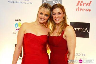 cari siegal in Attica's Little Red Dress Event