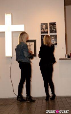 carley ealey in R&R Gallery Exhibit Opening