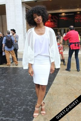 carlitta constant in NYFW Style From the Tents: Street Style Day 3