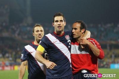 carlos bocanegra in US v. Poland Soccer