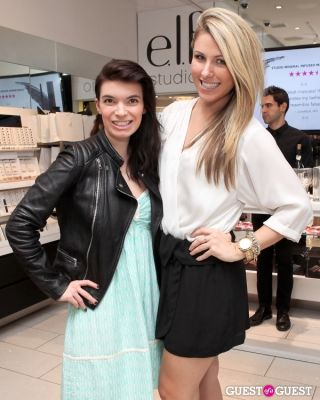 carly cardellino in e.l.f. Studio Grand Opening