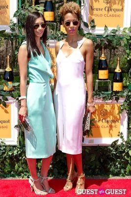 carly cushnie in Veuve Clicquot Polo Classic 2013