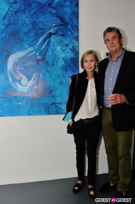 carole mccreedy in Conor Mccreedy - African Ocean exhibition opening