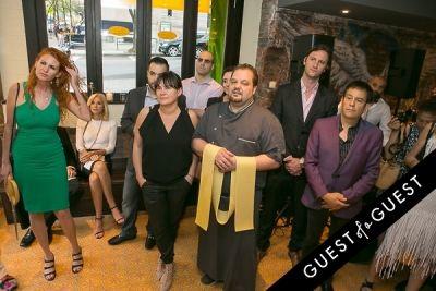 francesco belcaro in Serafina Harlem Opening
