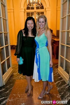 caroline baptista in The Frick Collection Garden Party