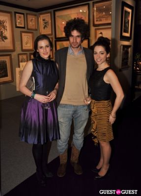 sarah benditt in Winter Antiques Show Young Collectors Night