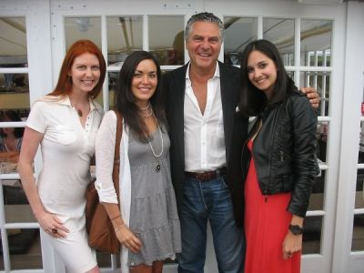 vittorio assaf in Serafina East Hampton Opening