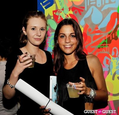 natascha picard in FLATT Magazine Closing Party for Ryan McGinness at Charles Bank Gallery