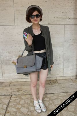 carolyn li in NYFW Style From the Tents: Street Style Day 4