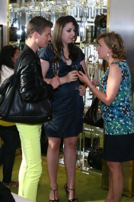 leah bourne in Girls Quest Shopping Event at Tory Burch