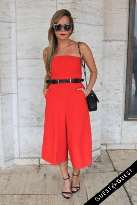cassandra in NYFW Style From the Tents: Street Style Day 3