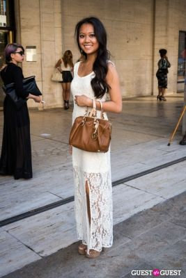 catherine horrilleno in NYFW 2013: Day 4 at Lincoln Center