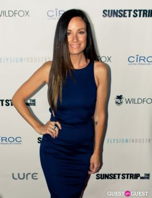 """catt sadler in """"Sunset Strip"""" Premiere After Party @ Lure"""