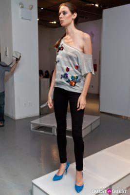 caty wooley in SS12 Fashion Presentations of YOON & Gabriela Moya