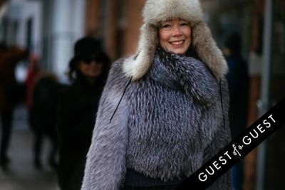 cecilia dean in NYFW Street Style Day 6