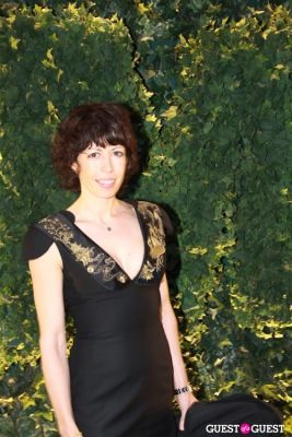 cecily brown in MoMA Benefit Gala
