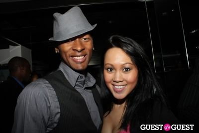 cedric bates in F.A.M.E. SAG After Party