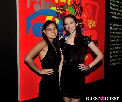 amanda sheff in Young Art Enthusiasts Inaugural Event At Charles Bank Gallery