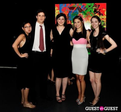 gina fraone in Young Art Enthusiasts Inaugural Event At Charles Bank Gallery