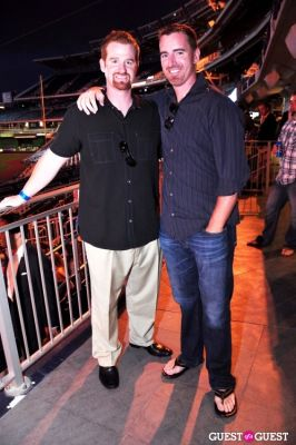 adam laroche in ziMS Foundation 'A Night At The Park' 2012