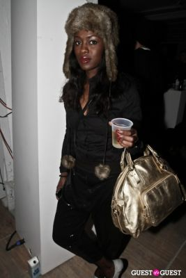 chalya shagaya in Andrew Buckler FW10 After Party