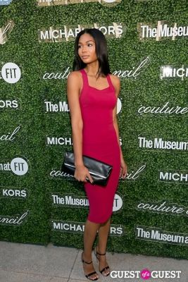 chanel iman in Michael Kors 2013 Couture Council Awards