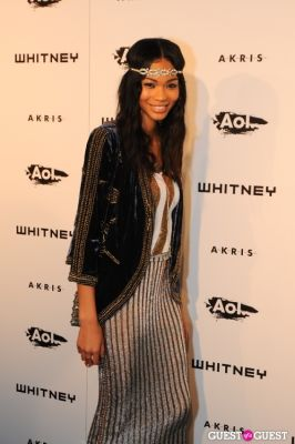 chanel iman in Whitney Studio Party 2010