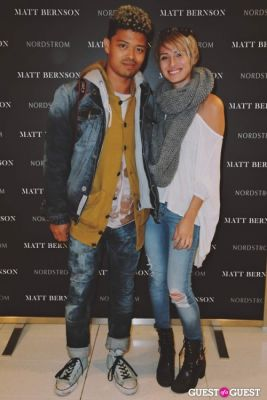 chard wilson in The Launch of the Matt Bernson 2014 Spring Collection at Nordstrom at The Grove