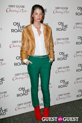 charlbi dean in NY Premiere of ON THE ROAD