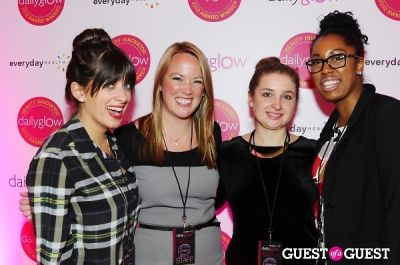 stephanie garman in Daily Glow presents Beauty Night Out: Celebrating the Beauty Innovators of 2012