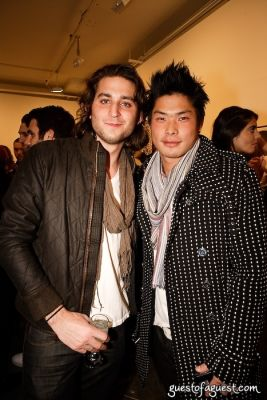 chase stogel in Timo Weiland Neckwear Event