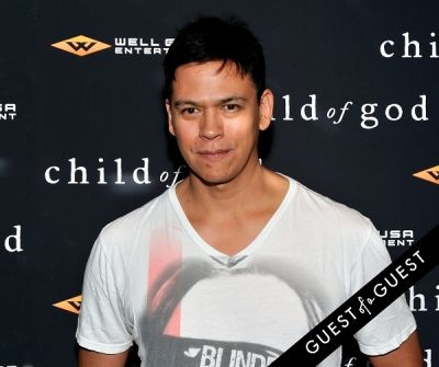 chaske spencer in Child of God Premiere