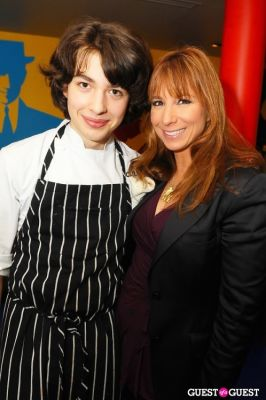 jill zarin in The Feast :Pop Art Pop Up Restaurant