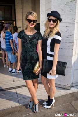 chelsea leyland in NYFW 2013: Day 4 at Lincoln Center